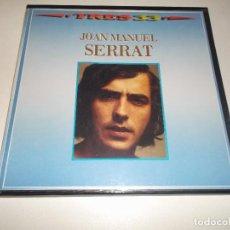 Discos de vinilo: JOAN MANUEL SERRAT ESTUCHE CON TRES LPS ZAFIRO 1985. Lote 126456655