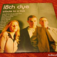 Discos de vinilo: 18TH DYE LP TRIBUTE TO A BUS CHÉ ORIGINAL UK 1995 + FUNDA INTERIOR. Lote 126464627