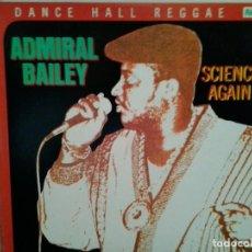 Discos de vinilo: LP VINILO ADMIRAL BAILEY . Lote 126467223