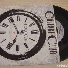 Discos de vinilo: CULTURE CLUB - TIME (CLOCK OF THE HEART) + WHITE BOYS CAN'T CONTROL IT - SINGLE 1982 - VIRGIN. Lote 126471447