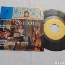 Discos de vinilo: MARISOL - CANCIONES DE LA PELICULA TOMBOLA. Lote 126472243