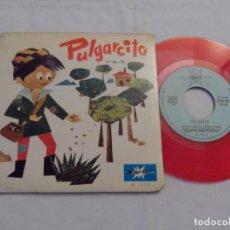 Discos de vinilo: DISCO-CUENTO PULGARCITO Y LA LECHERA MARFER. Lote 126472959