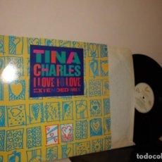 Discos de vinilo: TINA CHARLES I LOVE TO LOVE--THE BIDDU ORCHESTRA- LEVEL RECORDS -MIX-1986-POLYGRAN SPAIN . Lote 126483391