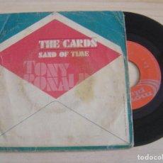 Discos de vinilo: TONY RONALD - THE CARDS + SAND OF TIME - SINGLE ESPAÑOL 1973. Lote 126487175