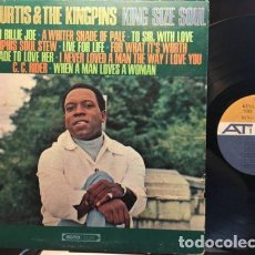 Dischi in vinile: KING CURTIS - KING SIZE SOUL 1967 !! GROOVE FUNK SOUL / RARA ORG EDIT USA !! IMPECABLE. Lote 126487591
