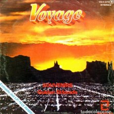 Discos de vinilo: VOYAGE - SOUVENIRS. GOLDEN ELDORADO - SINGLE PROMO ZAFIRO 1978. Lote 126496815