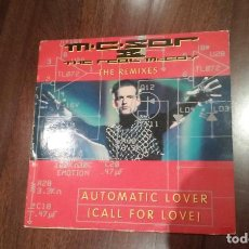 Discos de vinilo: M.C. SAR & THE REAL MCCOY-AUTOMATIC LOVER(CALL FOR LOVE).THE REMIXES.MAXI. Lote 126505831