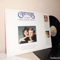 Discos de vinil: CARPENTERS-GREATEST HITS- AM RECORDS-1990-LONDON-POLYGRAM . Lote 126510251