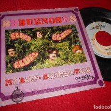 Discos de vinilo: LOS BUENOS MY BABY/SUMMER TALK 7 SINGLE 1969 ACCION . Lote 126531163