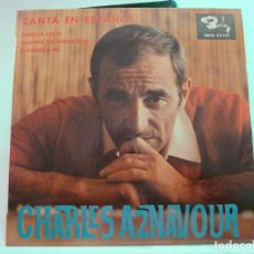 Discos de vinilo: CHARLES AZNAVOUR - VENECIA SIN TI. Lote 126536599