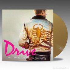 Discos de vinilo: CLIFF MARTINEZ - DRIVE BANDA SONORA ORIGINAL EDICIÓN LIMITADA VINILO COLOR DORADO OPACO PRECINTADO. Lote 126546399