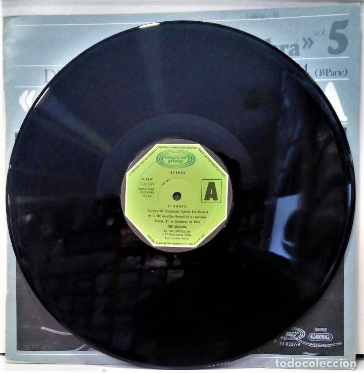 Discos de vinilo: CHE GUEVARA - DISCURSO ANTE LA ONU 1º PARTE - LP - ED ESPAÑOLA 1977 - Foto 3 - 126547523