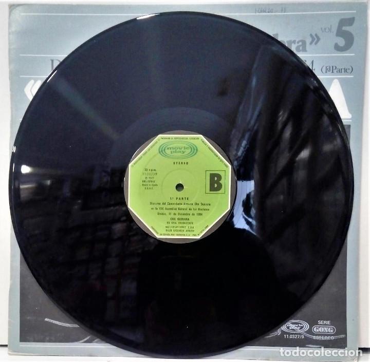 Discos de vinilo: CHE GUEVARA - DISCURSO ANTE LA ONU 1º PARTE - LP - ED ESPAÑOLA 1977 - Foto 4 - 126547523