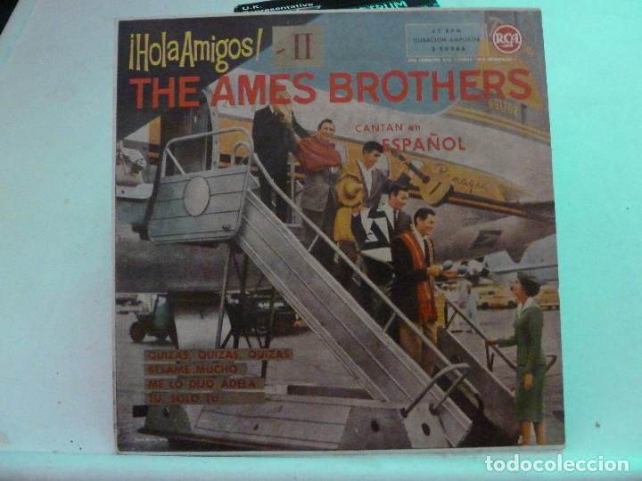 THE AMES BROTHERS CON ESQUIVEL Y SU ORQUESTA - HOMA AMIGOS II (Música - Discos de Vinilo - EPs - Orquestas)