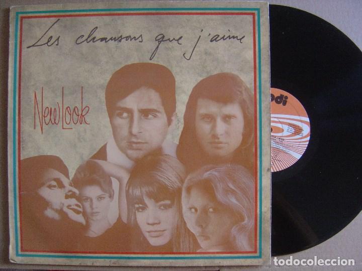 NEW LOOK - ES CHANSONS QUE J´AIME - LP 1987 - PDI (Música - Discos - LP Vinilo - Grupos Españoles de los 70 y 80)