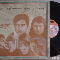 Discos de vinilo: NEW LOOK - ES CHANSONS QUE J´AIME - LP 1987 - PDI. Lote 126560143