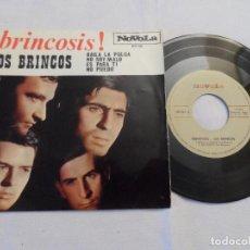Discos de vinilo: LOS BRINCOS - BRINCOSIS (BAILA LA PULGA, NO PUEDO, ES PARA TI, NO SOY MALO). Lote 126560639