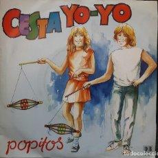 Discos de vinilo: POPITOS - CESTA YO YO - SINGLE - BELTER - DUO DINAMICO - INFANTIL - INFANTILES - NO USO CORREOS. Lote 126561459