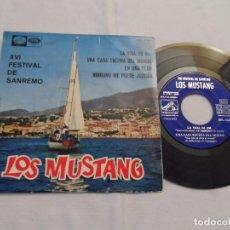Discos de vinilo: LOS MUSTANG - XVI FESTIVAL DE SANREMO. Lote 126562103