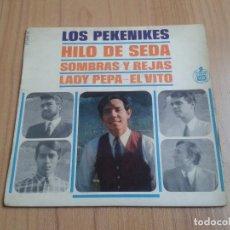 Discos de vinilo: LOS PEKENIKES - HILO DE SEDA, SOMBRAS Y REJAS, LADY PEPA, EL VITO - EDIC. FRANCESA - HISPA VOX, 1966. Lote 126562759