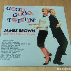 Discos de vinilo: JAMES BROWN - GOOD, GOOD, TWISTIN' (LP 2017, LA MACHINE DU TEMPS SARL VNL 18703) PRECINTADO. Lote 126562931