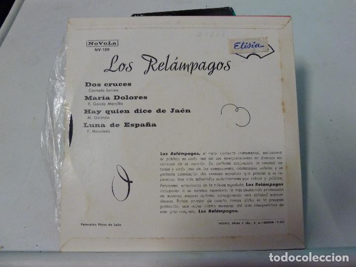 Discos de vinilo: LOS RELAMPAGOS - DOS CRUCES - Foto 2 - 126565723