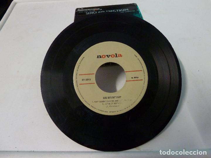 Discos de vinilo: LOS RELAMPAGOS - DOS CRUCES - Foto 3 - 126565723
