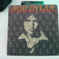 Discos de vinilo: BOB DYLAN - MAN GAVE NAMES TO ALL THE ANIMALS. Lote 126578671
