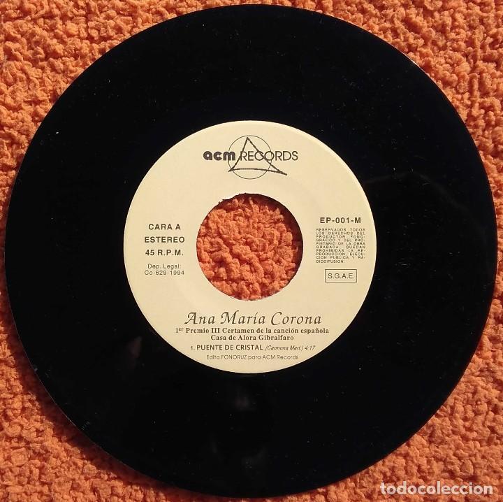 Discos de vinilo: Vinilo EP Ana Maria Carona, Un Clasico, 1994 - Foto 3 - 126584223