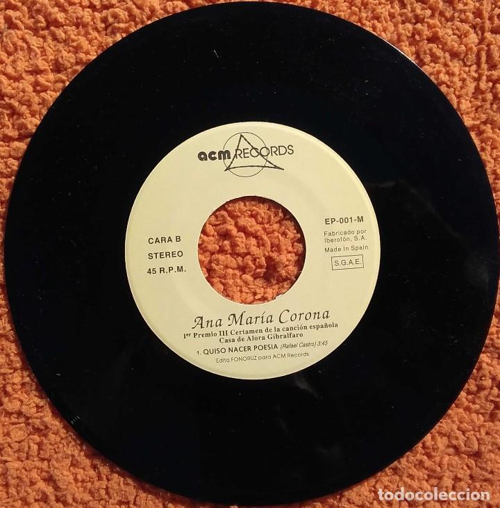 Discos de vinilo: Vinilo EP Ana Maria Carona, Un Clasico, 1994 - Foto 4 - 126584223
