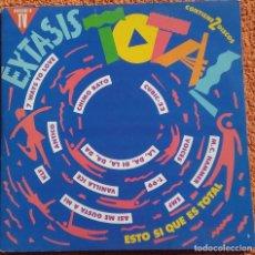Discos de vinilo: VINILO LP EXTASIS TOTAL. CHIMO BAYO. A.S.A.P. RAUL ORELLANA. DOBLE LP - 1991. Lote 126585179
