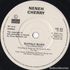 Discos de vinilo: NENEH CHERRY - KISSES ON THE WIND , SINGLE UK 1989 . Lote 126594679