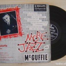 Discos de vinilo: BILL MCGUFFIE - MORE JAZZ WITH MCGUFFIE - LP UK - PHILIPS . Lote 126596595