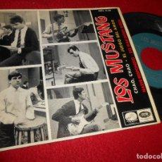 Discos de vinilo: LOS MUSTANG CHAO,CHAO/EL JUEGO DEL AMOR/NADIE RESPONDIO/DO WAH DIDDY DIDDY 7'' EP 1965 VOZ DE SU AMO. Lote 126600755