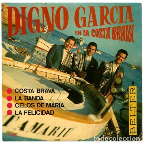 DIGNO GARCIA Y SUS CARIOS – DIGNO GARCIA EN LA COSTA BRAVA (ED.: ESPAÑA, 1968) (Música - Discos - Singles Vinilo - Grupos y Solistas de latinoamérica)