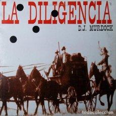 Discos de vinilo: DJ MURDOCK – LA DILIGENCIA (ED.: ESPAÑA, 1984). Lote 126602207