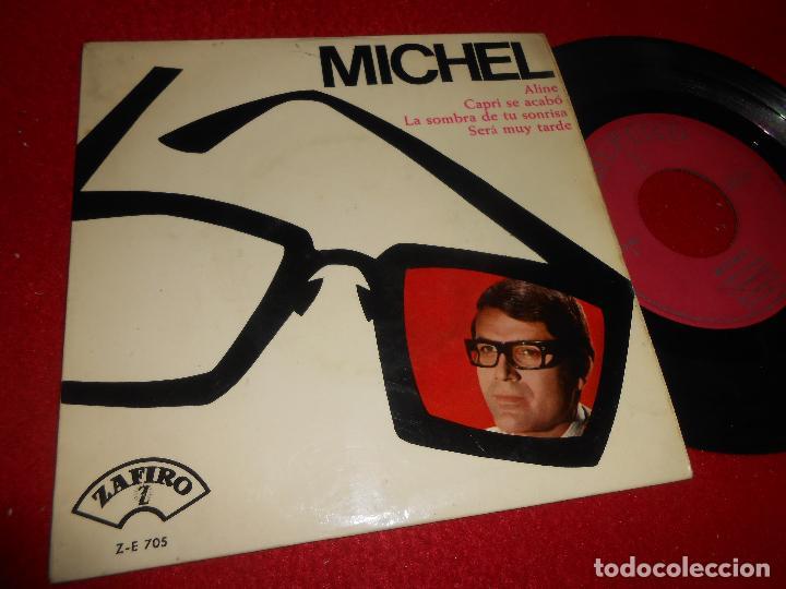 MICHEL ALINE/CAPRI SE ACABO/LA SOMBRA DE TU SONRISA/SERA MUY TARDE 7'' EP 1965 ZAFIRO (Música - Discos de Vinilo - EPs - Solistas Españoles de los 50 y 60)