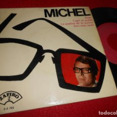 Discos de vinilo: MICHEL ALINE/CAPRI SE ACABO/LA SOMBRA DE TU SONRISA/SERA MUY TARDE 7'' EP 1965 ZAFIRO. Lote 126602259