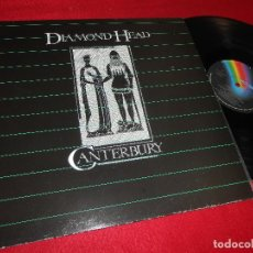 Discos de vinilo: DIAMOND HEAD CANTERBURY LP 1983 MCA RECORDS SPAIN. Lote 126603311
