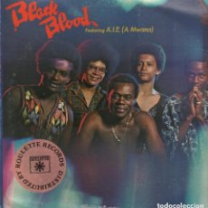 Discos de vinilo: BLACK BLOOD FEATURING A.I.E. ( A MWANA) / LP MAINSTREAM RECORDS DE 1975 , RF-4601. Lote 126610379