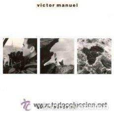 Discos de vinilo: VICTOR MANUEL - QUE TE PUEDO DAR - LP SPAIN 1988. Lote 126615875