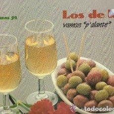 Discos de vinilo: LOS DE LA O: VAMOS P'ALANTE, SEVILLANAS 92', LP JAZMIN 1991. Lote 126615971