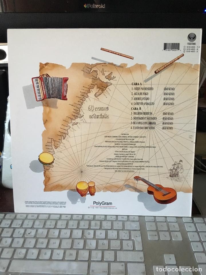 Discos de vinilo: RAO KYAO-DELIRIOS IBERICOS-ENCARTE-NUEVO - Foto 2 - 126625279