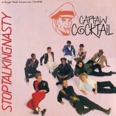 Discos de vinilo: CAPTAIN COCKTAIL. STOP TALKING NASTY - MAXI-SINGLE DON DISCO SPAIN 1987. Lote 126644607