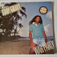 Discos de vinilo: EDDY GRANT - WAR PARTY - 1983. Lote 126654375