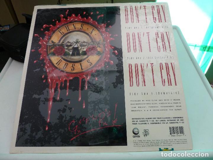 Discos de vinilo: GUNS AND ROSES - DONT CRY - MAXI DE 12 PULGADAS - PRECINTADO - Foto 2 - 126681927