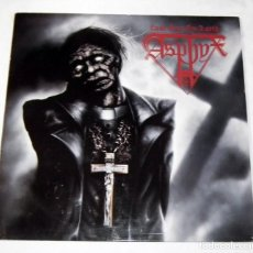 Discos de vinilo: LP ASPHYX - LAST ONE ON EARTH. Lote 126706363