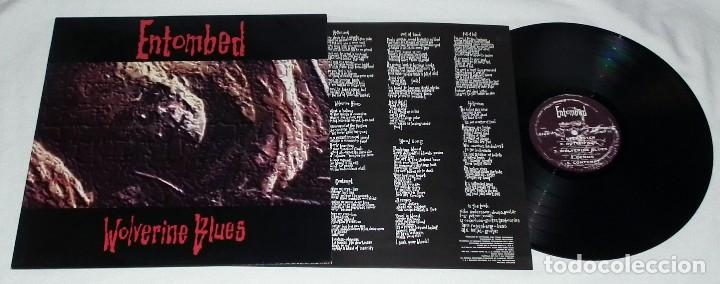 Discos de vinilo: LP ENTOMBED - WOLVERINE BLUES - Foto 3 - 126706627