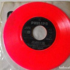 Discos de vinilo: JOHNNY HALLYDAY VEN A BAILAR EL TWIST EP ED ESPAÑOLA 1961 SIN CARATULA. Lote 126709591