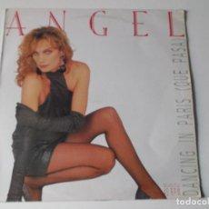Discos de vinilo: ANGEL DANCING IN PARIS QUE PASA 1986 ED ESPAÑOLA. Lote 126709751